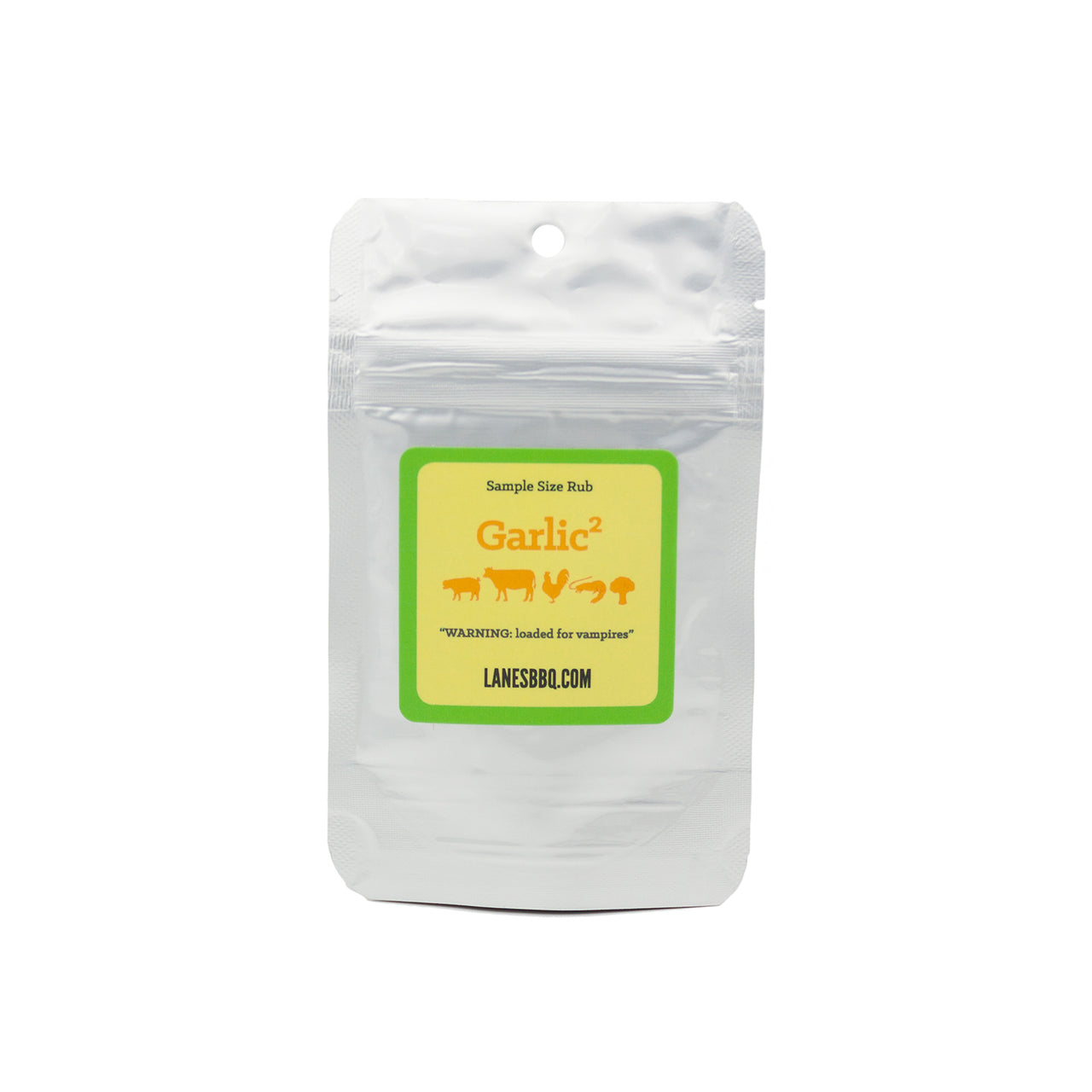 Garlic² Rub - .50 oz Sample Bag