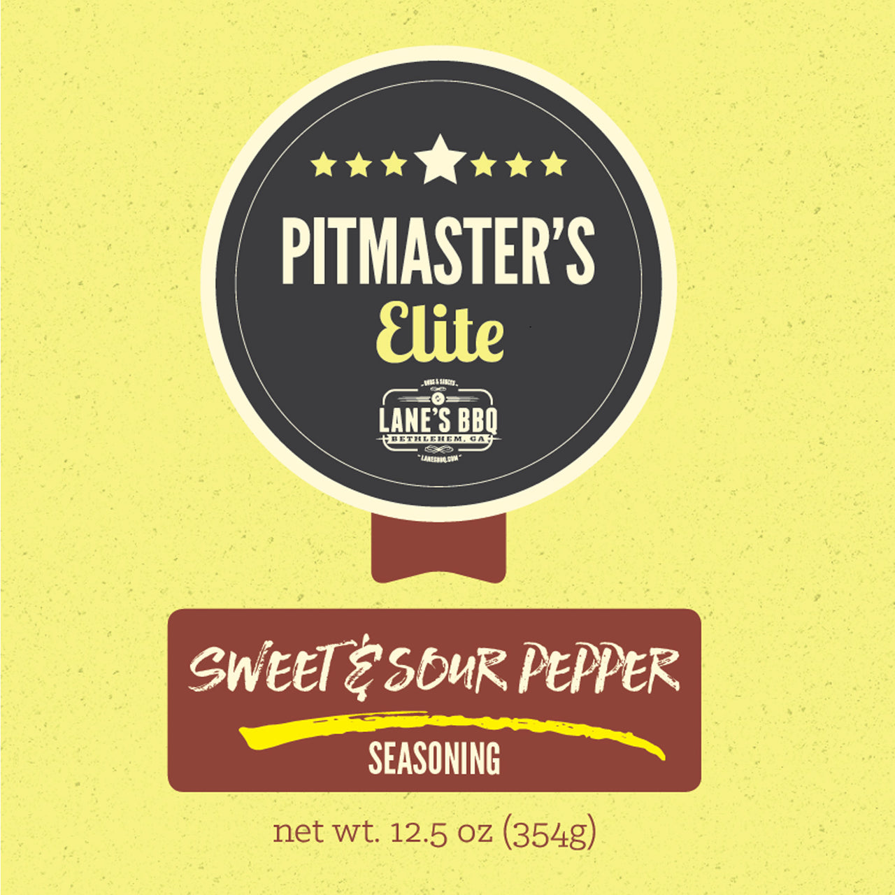 "Pitmasters Elite 2019 Reorder – Rub #3 ""Sweet & Sour Pepper"""