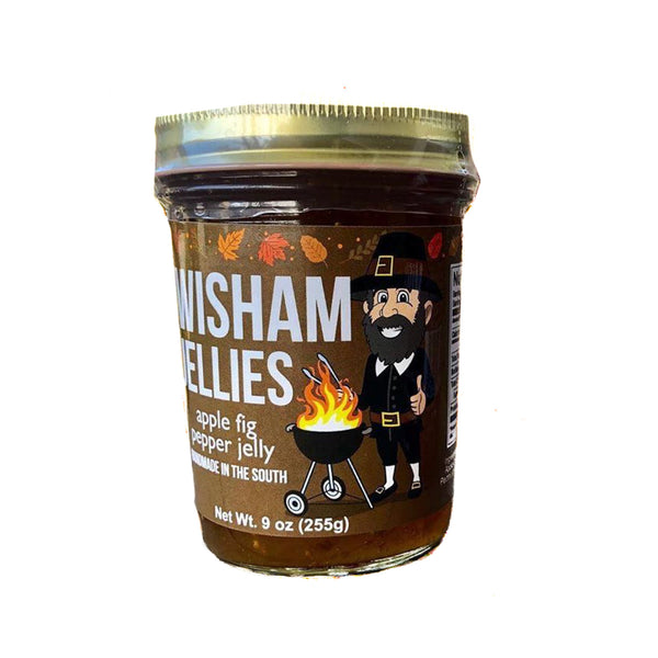 Wisham Jellies: Apple Fig Pepper Jelly