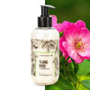 gel natural ylang y rosa