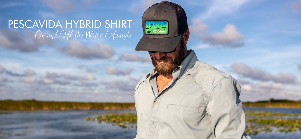 6th Sense Pescavida Hybrid Fishing Shirt