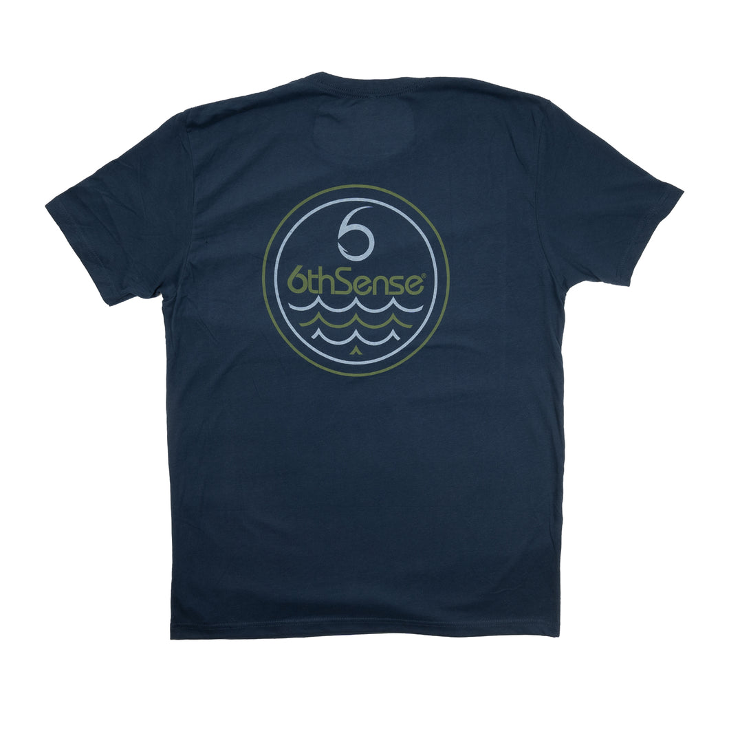 Buttery Ripple Tee - Midnight Navy