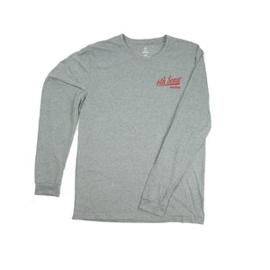 Cold One - L/S Tee - Dark Heather Gray