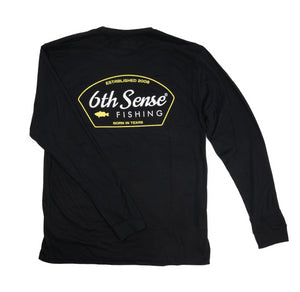 Go Texan - L/S Tee - Black