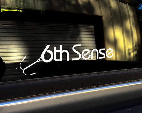 6th Sense Decal (8