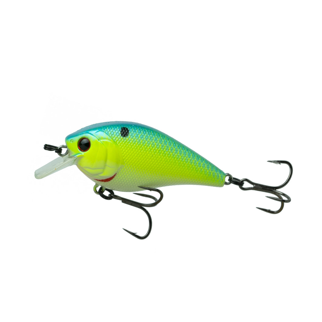 Crush 50X - Blue-Treuse Shad