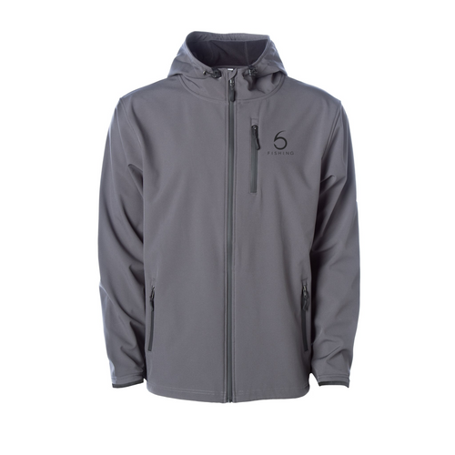 Poly-tech Soft Shell Jacket - Graphite (XS)