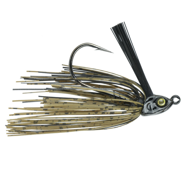 Divine Braid Swim Jig - Green Pumpkin Black