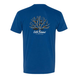 Brushpiler Tee - Royal Blue