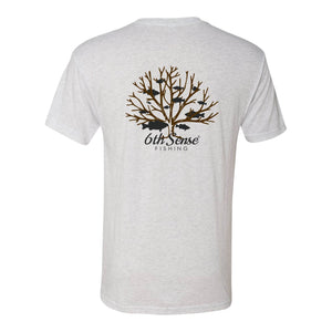 Brushpiler Tee - Heather White