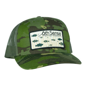 Hay Grass Bass -  Tropic Camo/Moss