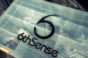 6th Sense Fishing, Decal, Sticker, 5in. by 5in.