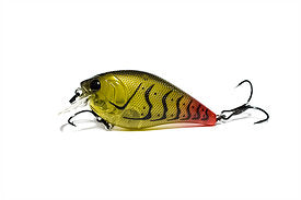 Crush 100X Crankbait Ghost  Tipped Craw