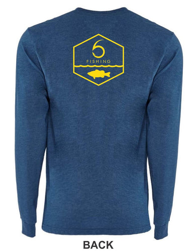 6 Sided Fishing - Long Sleeve