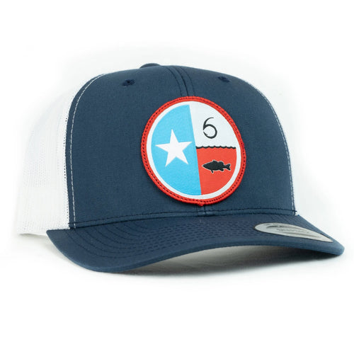 Lonestar - Navy / White