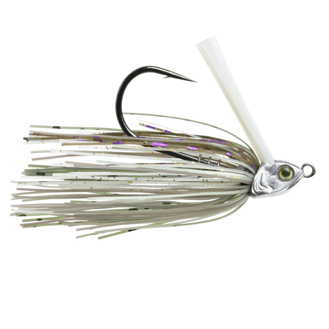 Divine Braid Swim Jig - Raw Silver Sunfish