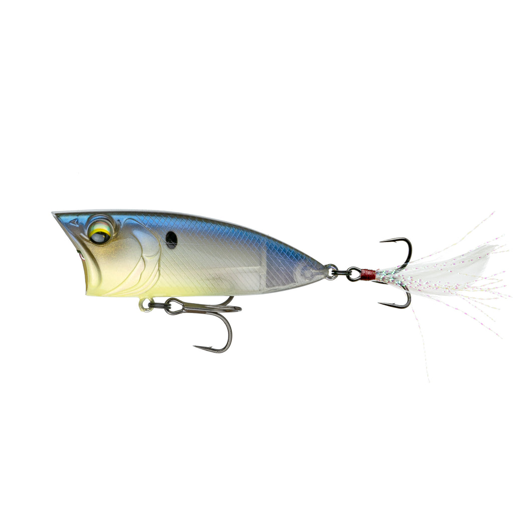 SplashBack Popper - Ghost Bone Minnow