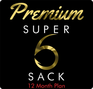 Premium Super 6 Sack (12-Month)