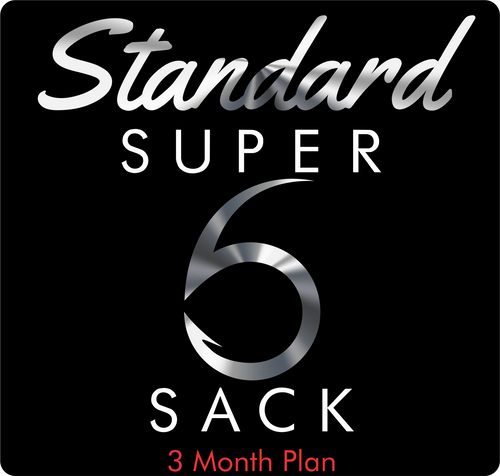 Standard Super 6 Sack (3-Month)