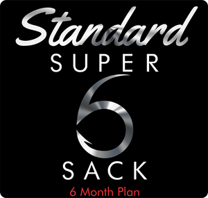 Standard Super 6 Sack (6-Month)