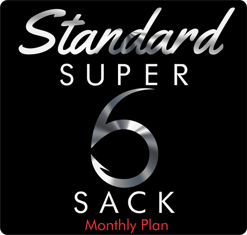 Standard Super 6 Sack (Monthly)