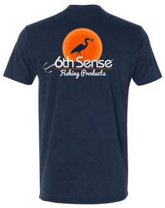 Sunset Heron - Midnight Navy