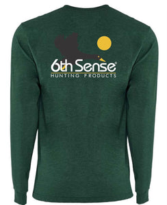 Decoy Long Sleeve - Heather Forest Green
