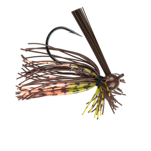 Divine BallHead Finesse Jig - Brown 'N' Orange Craw