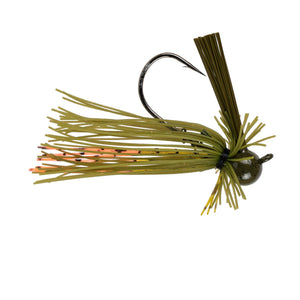 Divine BallHead Finesse Jig - Green Pumpkin Orange