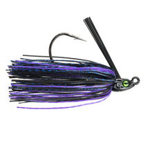 1/4 oz. - Divine Swim Jig - Black Light