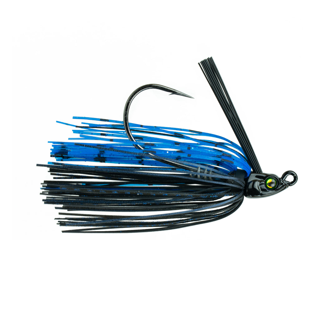 1/4 oz. - Divine Swim Jig - Black 'N' Blue