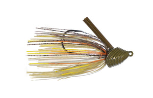 1 oz. Divine Scrape Grass Jig - Bluegill Fire