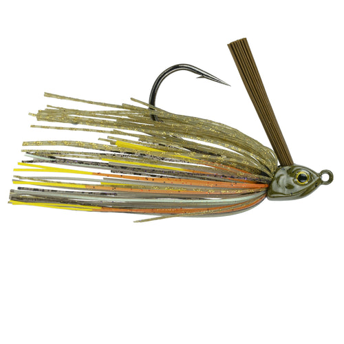 Divine Braid Swim Jig - Bluegill Fire