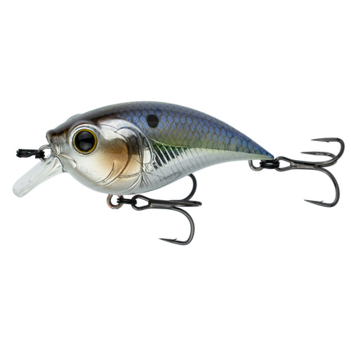 Curve Finesse Squarebill - Chrome Threadfin