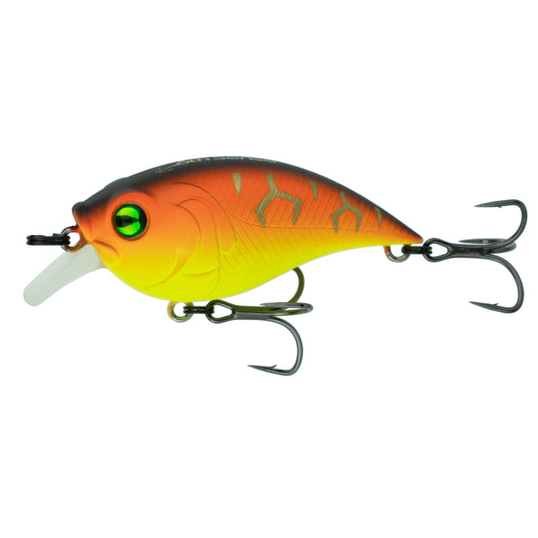 6th Sense Fishing - Curve Finesse Squarebill Crankbait - Tiger-Treuse