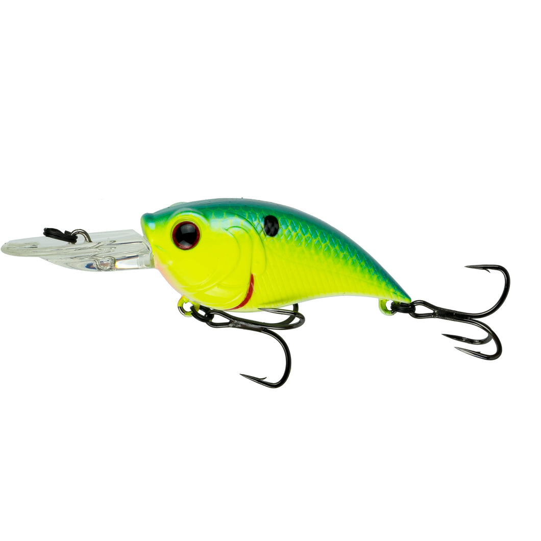 Curve 55 - Blue-Treuse Shad