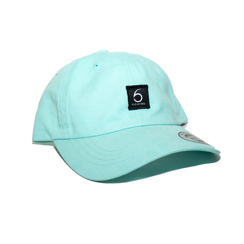 6 Fishing Dad Hat - Diamond Blue