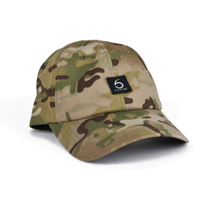 6 Fishing Dad Hat - Camo