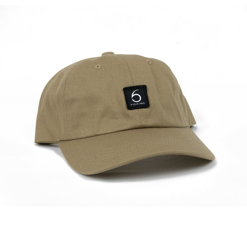 6 Fishing Dad Hat - Tan