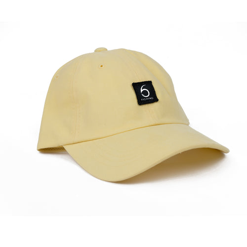 6 Fishing Dad Hat - Yellow