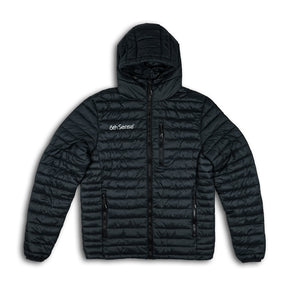 FishDown Hooded Jacket - Black