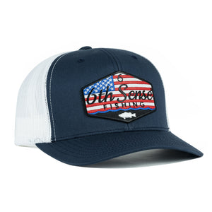 Stars & Stripes - Navy/White