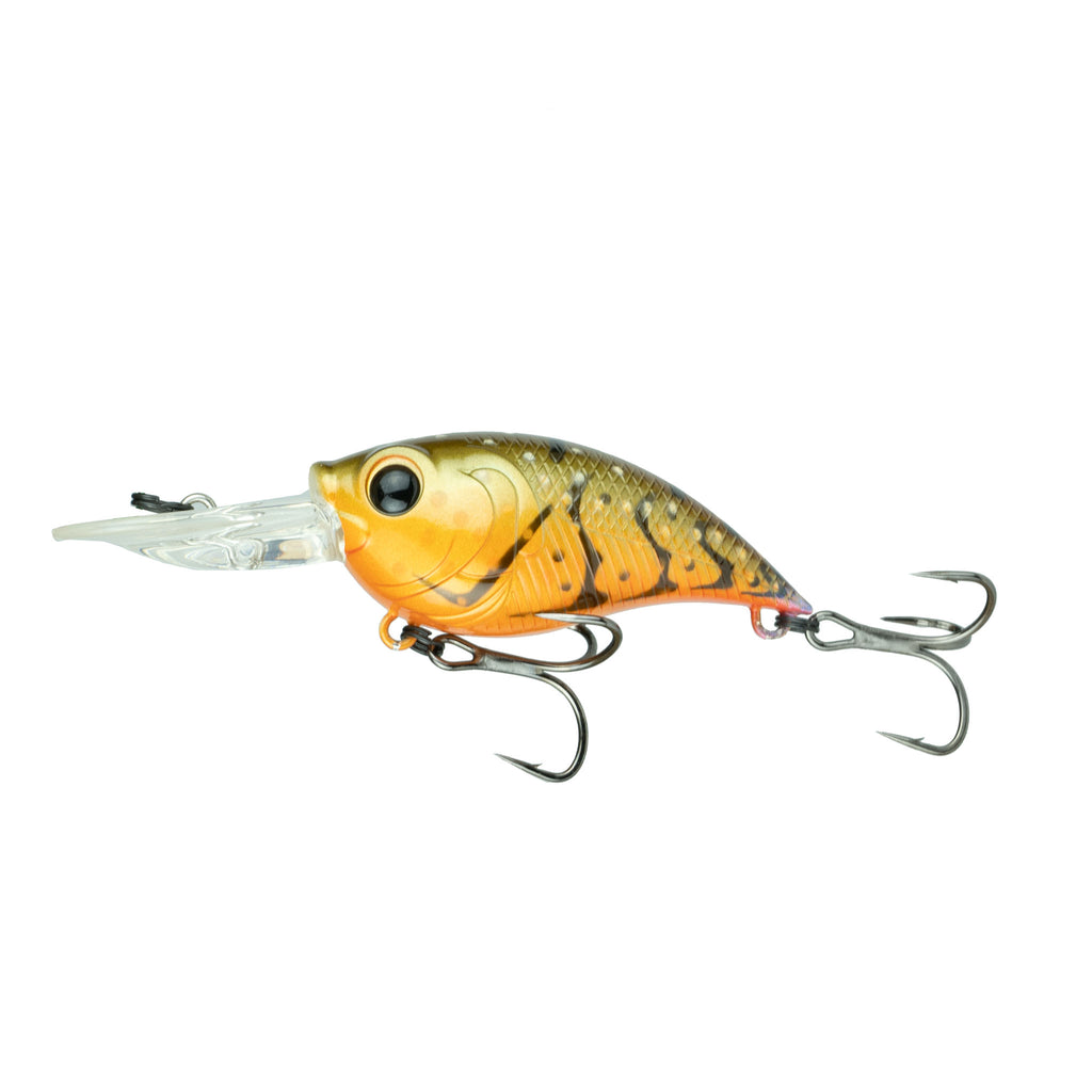 curve 55 crankbait from 6th sense fishing in the color crawfish nook