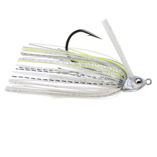 Divine Braid Swim Jig - Pro Blue Chartreuse