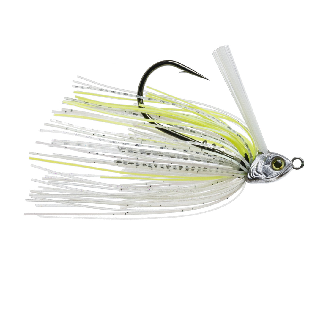 Divine Braid Swim Jig - Chartreuse Flash