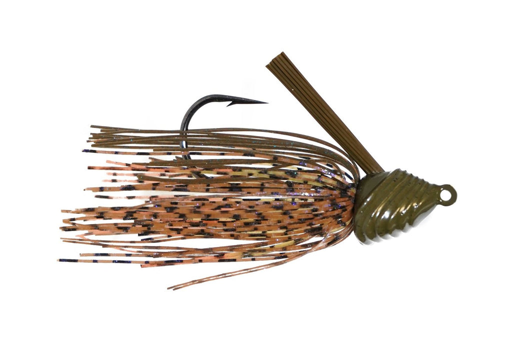 1 oz. Divine Scrape Grass Jig - Tipped Crawfish