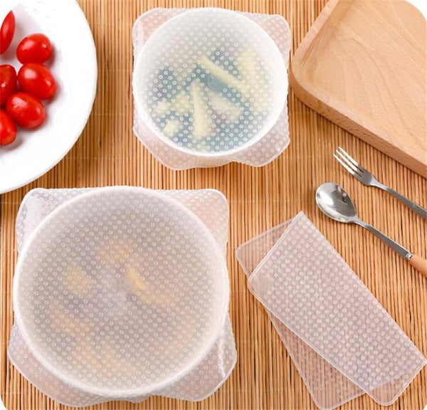 Silicone Food Storage Covers - Medium