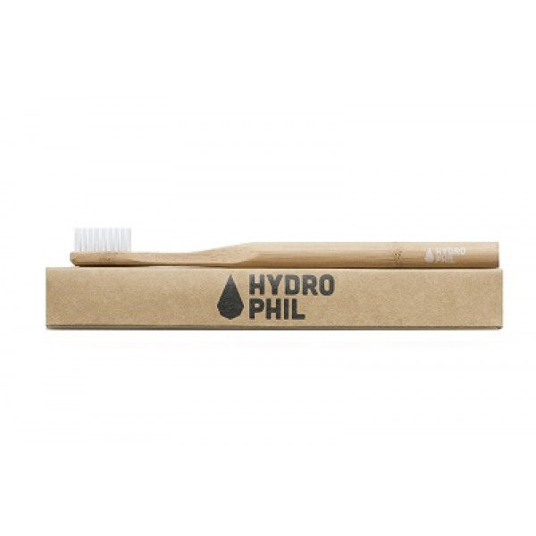 Bamboo toothbrush natural, sustainable & vegan by Hydrophil (medium)