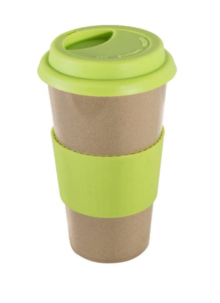 Biodegradable, Reusable Travel Mug - Green