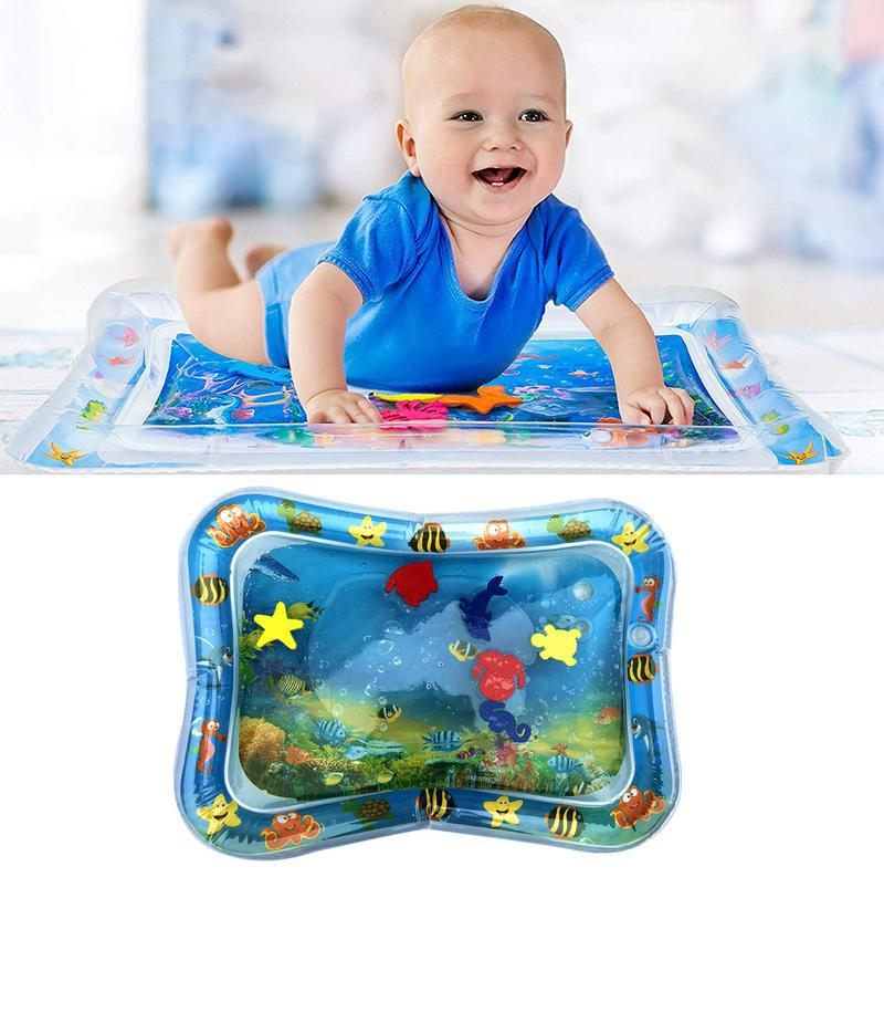 Kidte Tummy Time Inflatable Water Mat For Babies
